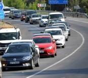 ARAÇ SAYISI - Antalya'nın Taşıt Sayısı Bir Ayda 3 Bin 847 Arttı