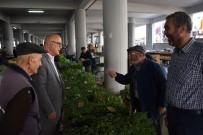 Başkan Erden'den Pazar Ziyareti