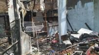 AHŞAP EV - Bilecik'teki Yangında Ahşap Dükkân Kül Oldu