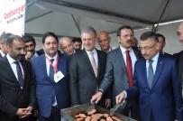 Ruhsar Pekcan - Cumhurbaşkanı Yardımcısı Fuat Oktay, Erzurum Standını Ziyaret Etti