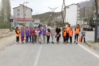 Hizan'da 'Okullar Arası Atletizm Yarışması' Yapıldı