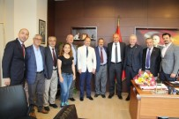 SEÇİM SÜRECİ - İYİ Parti Milletvekili Aydın Adnan Sezgin'den Başkan Tuncel'e Ziyaret