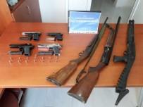 Kaçak Silah Tamircisi Yakalandı