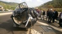 KAHRAMANMARAŞ SÜTÇÜ İMAM ÜNIVERSITESI - Kahramanmaraş'ta Trafik Kazası Açıklaması 1 Yaralı
