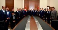 MHP Bayburt Heyeti, Bahçeli'yi Ziyaret Etti