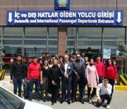 GAZİANTEP HAVALİMANI - Oğuzeli MYO Öğrencilerinden Gaziantep Havalimanı'na Teknik Gezi