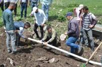 Başkan Demir, Merada Hayvan İçme Suyu Çalışması Başlattı