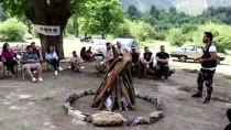 Belemedik Tabiat Parkına Kampçılardan İlgi