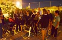 Didim'de Öğrenciler Ayı Yakından Gözlemledi