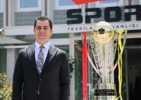 ŞAMPİYONLUK KUPASI - Galatasaray'ın Şampiyonluk Kupası Ankara'dan Yola Çıktı