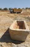 Hızlı Tren İnşaatında Lahit Mezar Ortaya Çıktı
