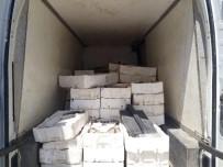 TİCARİ ARAÇ - Kahramanmaraş'ta Bin 800 Kilo Kaçak Balık Ele Geçirildi
