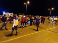 Kahramanmaraş'ta Trafik Kazası Açıklaması 1 Ağır 5 Yaralı