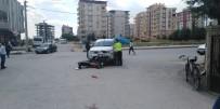 Kamyonet İle Motosiklet Çarpıştı Açıklaması 1 Yaralı