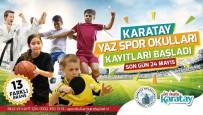 Karatay Yaz Spor Okullarının Ön Kayıtları Başladı