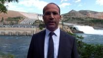 Keban Baraj Gölü'nün 3 Tahliye Kapağı Daha Açıldı