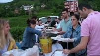 İŞ BANKASı - Köy Meydanında Geleneksel İftar Sofrası Kuruldu