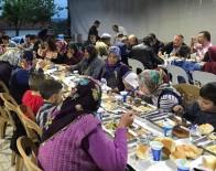 Köylülerden Geleneksel İftar Yemeği