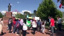 ATATÜRK ANITI - Şanlıurfa'da Öğrenciler Cinsel İstismara Karşı Yürüdü