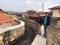 Sürekli Sel Baskını Olan Köyde Dere Islahı Çalışması