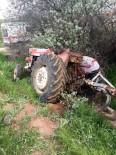 TAHKİKAT - Takla Atan Traktörün Altında Kalan Sürücü Öldü