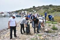 ERHAN GÜNAY - Tavşan Adası'nda Kıyı Ve Su Altı Temizliği