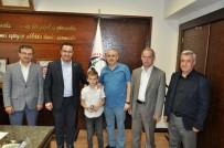 Başkan Kanar'dan Küçük Matematikçiye Ödül