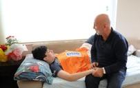 ALANYASPOR - Çavuşoğlu'ndan Yoğun Bakımdaki Öğrenciye Moral Ziyareti