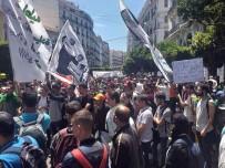 CEZAYIR - Cezayirli Öğrenciler Sokaklara Döküldü
