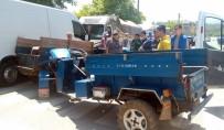 Düzce'de Patpatlar Çarpıştı Açıklaması 2 Yaralı