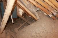 Evin Tavanı Çöktü Açıklaması 5 Kişi Canını Zor Kurtardı