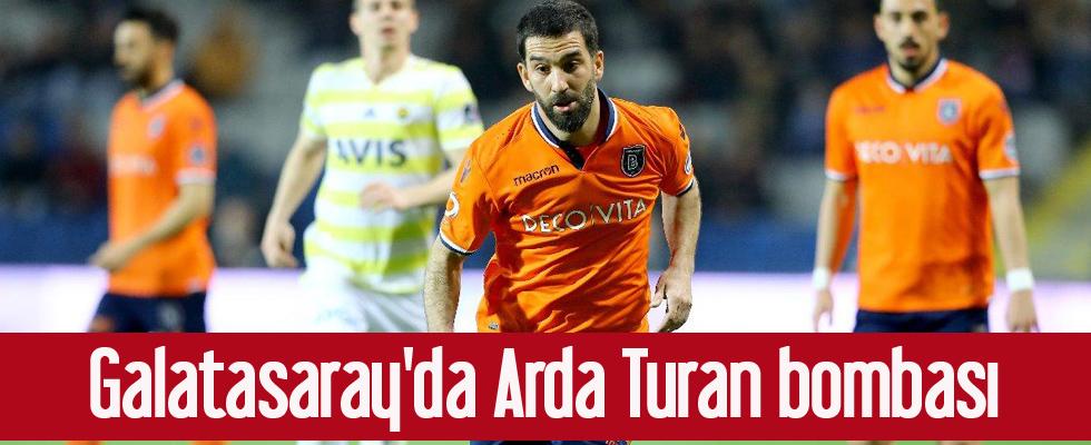 Galatasaray'da Arda Turan bombası