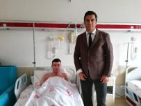 Isparta'da Vücudunun Yüzde 35'İ Yanan Genç, Yapılan Tedavi İle Sağlığına Kavuşturuldu