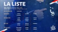 BOLIVYA - İşte Fransa'nın Türkiye Maçı Kadrosu