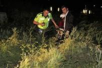 Karaman'da Motosiklet Kazası Açıklaması 1'İ Ağır 2 Yaralı