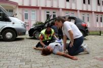 TRAFIK KAZASı - Kaza Tatbikatı Gerçeğini Aratmadı