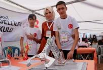 İŞİTME ENGELLİLER - (Özel) Engelli Öğrenciler Serum Hortumu Ve Enjektör İle Çalışan Robot Yaptı