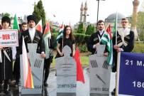YAĞAN - Sivas'ta 'Çerkez Sürgünü' Protesto Edildi