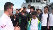 'TCG Akçakoca' Ve 'TCG Yavuz' Alsancak Limanı'nda