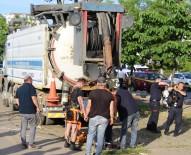 AYASOFYA - Trabzon'da Bir İşçi Kanalizasyonda Akıntıya Kapılarak Kayboldu