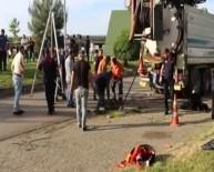AYASOFYA - Trabzon'da Kanalizasyonda Akıntıya Kapılarak Kaybolan İşçiyi Arama Çalışmaları Sürüyor