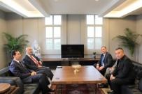 Vali Köşger'den Başkan Öndeş'e Hayırlı Olsun Ziyareti