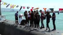 Zonguldak'ta Askeri Denizaltı Ve Okul Gemisi Ziyarete Açıldı