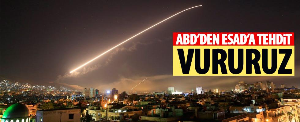 ABD'den Esad'a uyarı
