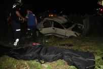 Adana'da Otomobil Şarampole Devrildi Açıklaması 2 Ölü, 2 Yaralı