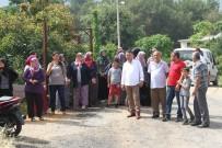 YÜZ YÜZE - Alanya'da Mahalleli Baz İstasyona Tepki Gösterdi