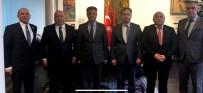 ATGB'den Almanya Büyükelçisi Aydın'a Ziyaret