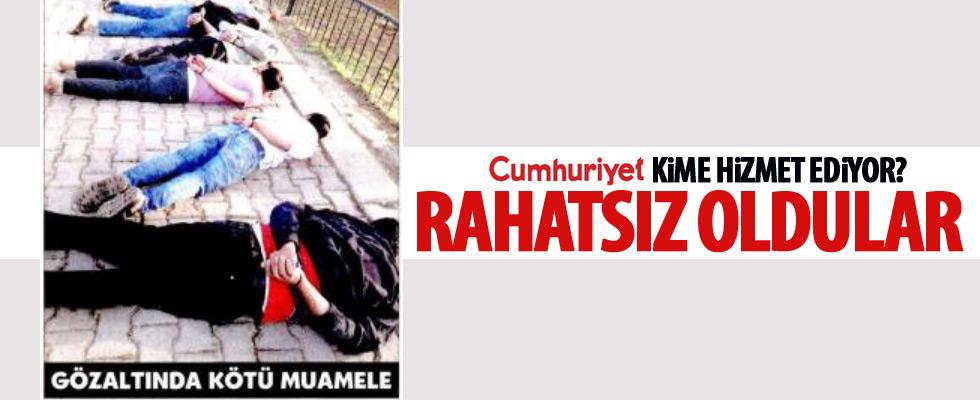 Cumhuriyet'ten skandal haber!