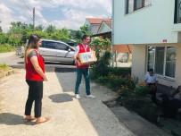 İFTAR VAKTİ - Gençler Ramazan Kolisi Dağıttı