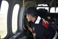 YAKIN TAKİP - Kastamonu'da Ramazan Bayramı Öncesinde Helikopterle Trafik Denetimi